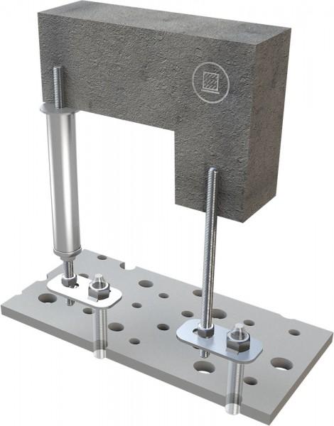 Unterkonstruktion für abgehängte Decken für ABS-Lock II