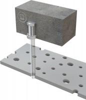 Einbetonierhülse für Abhangdecken für ABS-Lock II
