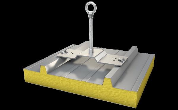 Produktbild Anschlagpunkt ABS-Lock X-SW-6 für Sandwichblech-Dächer